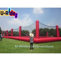 0.4mm - 0.9mm PVC Red Paintball Air Bunker Huge Speedball Inflatable Bunkers