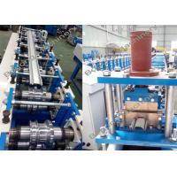 Shutter / Garage Door Roll Forming Machine 65mm Shaft Diameter High Speed Manufactures