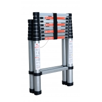 Anti Slip Foldable 15ft Aluminium Telescopic Ladder Manufactures