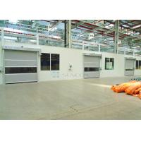 Cheap Industrial Transparent Windows Commercial High Speed Door Stainless Steel Frame for sale