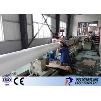 PLC Control PS Foam Production Line , Pe Foam Sheet Extruder Easy Operation Manufactures