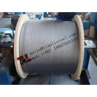 6x37+IWRC Stainless Rope STS 304 316 diameter 18mm