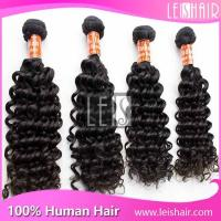 Cheap hot selling hair products Indian deep curly virgin hair for sale