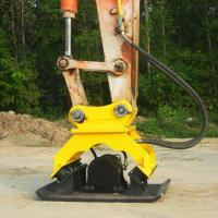 China Agriculture Hydraulic Plate Compactor , 2000 Rpm Excavator Plate Compactor on sale