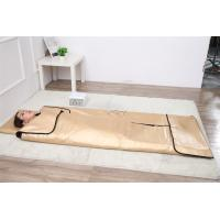 3 Zone Far Infrared Blanket / Body Wrap Blanket For Detox And Slimming Manufactures