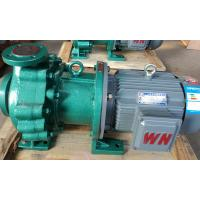 Industry Magnetic drive Chemical Transfer Pumps / corrosion resistant chemical process pumps Manufactures