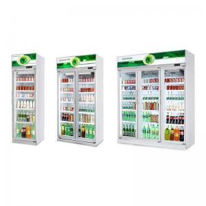 Glass Door Commercial Display Freezer Drinks Fridge Chiller High Capacity Cabinet Manufactures