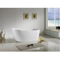 Comfortable Acrylic Insulated Freestanding Bathtubs 1700mm Durable Classic Manufactures