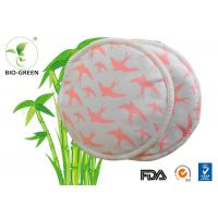 Nursing Bra Bamboo Breast Pads With Soft Material Customized Printed Log Available Manufactures