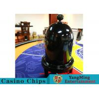 Security Fair Casino Game Accessories Black Color Automatic / Manual Dice Cup Manufactures