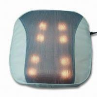 China Massager Cushion with Heating Function, Works for Lumbar, Back and More on sale