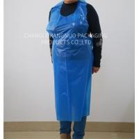 Blue Medical Disposable Polythene Aprons On The Roll , 200Pcs / Roll Packing Manufactures