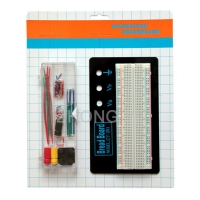 16.6×5.5×0.85 cm Circuit Breadboard And Wire Kit 70Pcs Jumper Cable Manufactures