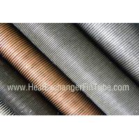 Condenser Copper Finned Tube , C12200 / C12100 / C68700 / C70600 / C71500 Manufactures