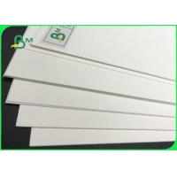 Good Absorption Natural White Coaster Paper 0.7mm - 1.5mm For Beer Mat Manufactures