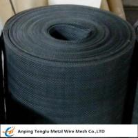 China Black Iron Wire Cloth|Plain Steel Wire Mesh Cloth by Plain Twill Dutch Weave for Filter on sale