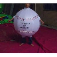 Quality Promotion Lovely Inflatable Ball Advertising Costumes With FR rip stop nylon for sale