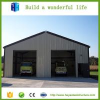 Prefab iso standard steel structure construction warehouse and plant Manufactures