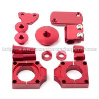 CNC MX Bling Kit With Front Brake Master Cylinder Cap And Brake Line Clamp Manufactures