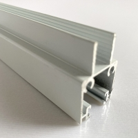 anodized 6063 T5 T6 Powder Coated Aluminum Extrusions Manufactures