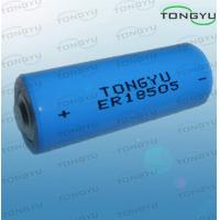 High Voltage 3.6V Lithium Thionyl Chloride Battery ER18505 For Smoke Alarm Manufactures