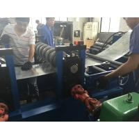 8 M / Min Cable Tray Rolling Forming Machine 80 - 600mm Profile Width Around 20 Tons Manufactures
