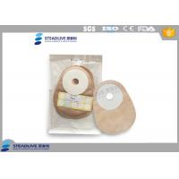 Closed Type Single Piece Urine Colostomy Bag With Foam Wafer , 25mm Max Cut Manufactures