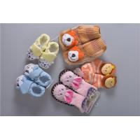 Knitted Slip Resistant Cotton Baby Socks For Keep Warm Custom Made Size Manufactures