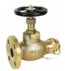 Válvula de bronce de la boca de riego de fuego (conexión instantánea) Manufactures