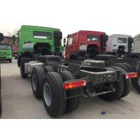 Capacity 25 - 40 Tons Cargo Truck Chassis SINOTRUK HOWO ZZ1257N4641W TR691 Tyre Manufactures