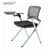 PP Plastic Folding Garden Chairs , Folding Picnic Chairs With Writing Pad Manufactures