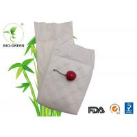 White Organic Bamboo Diaper Liners , Charcoal Bamboo Cloth Diaper Inserts Manufactures