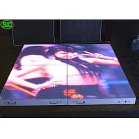 Buy cheap Portable Interactive 3D Video LED dance floor rental display for wedding party from wholesalers