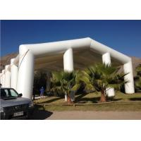 China 15m White Pvc Giant Exhibition Inflatable Structure Tent for Event and Wedding on sale