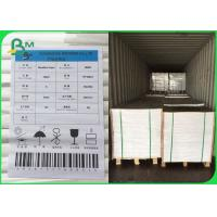 FSC Certified UWF Uncoated Woodfree Paper 80 100 120gsm OBA Free In Sheets Manufactures