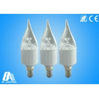 High Power Decorative Dimmable White Candle Shaped Light Bulbs Candle Light Led Bulbs Manufactures