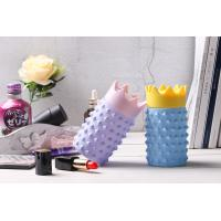 China New Creative design Glass mug with pineapple model silicone rubber cover on sale