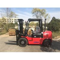 3000kg Capacity Diesel Forklift Truck Automatic Transmission 3m Lifting Height Manufactures