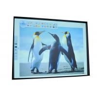 80 inch multi touch electronic IR interactive whiteboard 80MT, auminum honeycomby board Manufactures
