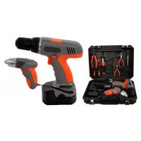 "4.8V 1/4"" Li-ion 1.3Ah Cordless Screwdriver Sets Cordless Power Tools Kit for DIY Manufactures"