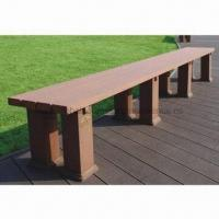 WPC Bench, Wood Plastic Composite, High Density, Stable Manufactures