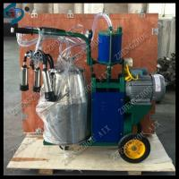 China high efficiency single barrel piston milking machine for cow farm on sale