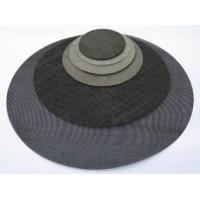 China Black Wire Cloth 10-80mesh With Features of Uniform meshes; Smooth surface on sale