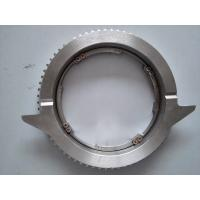 Rounded Steel Jaw Chuck Textile Machinery Spare Parts , Rotary Printing Machine Parts