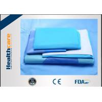 China SMMS EO Sterile General Surgery Drape Disposable Surgical Packs With OP Tape on sale