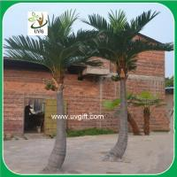 UVG PTR02 indoor and outside artificial silk palm trees for shopping mall landscaping Manufactures