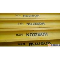 Waterproof Treated H20 Timber Beam , Yellow Timber H Beam For Slab Formwork Manufactures