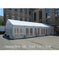 China Light Frame Steel Structure Large Wedding Tents , Fire Retardent Commercial Event Tents on sale