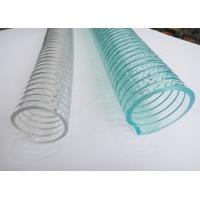 Industrial PVC Spiral Hose , Reinforced Hose Pipe Colorful Lightweight Manufactures