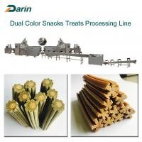 Dog Treats / Dog Chewing / Detal Care Treats Food Production Line Manufactures